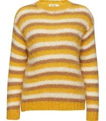 kaya pullover gebreide trui geel nué notes