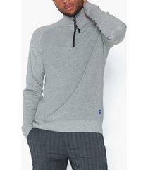 jack & jones jorklover knit high neck tröjor ljus grå