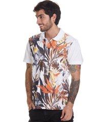 camiseta tipo polo-blanca-puntazul-41390
