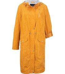 parka leggero con fodera di jersey (arancione) - bpc bonprix collection