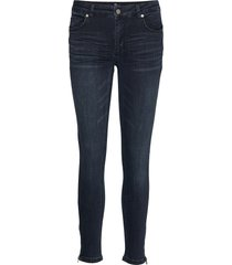 31 the celinazip custom slimmade jeans blå denim hunter