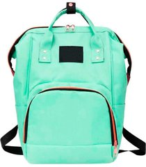 mochila thata esportes mala bolsa maternidade multiuso multifuncional mamadeira verde claro