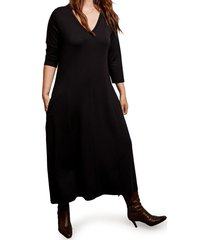 vestido negro mamy blue circinus