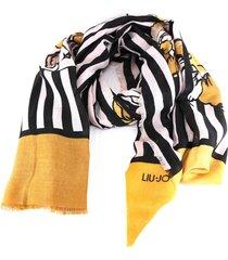 sciarpa liu jo 269066 t0300 light yellow