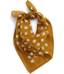 women's madewell bandana, size no size - brown