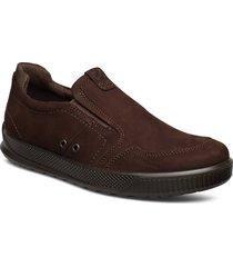 byway loafers låga skor brun ecco