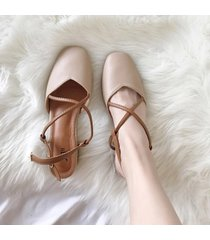 sandalias de mujer sweet retro sandals mujer sandalias de tacón redondo
