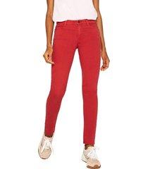 pantalon casual rojo esprit