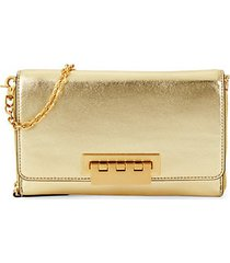 eartha metallic leather wallet