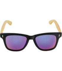 óculos de sol khatto way bamboo masculino