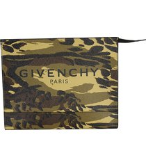 givenchy designer men's bags, medium pouch with logo