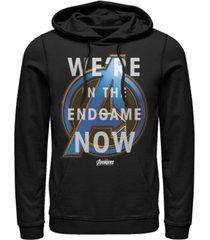 marvel men's avengers endgame we're in the game now, pullover hoodie