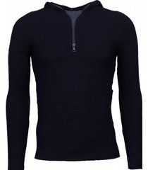 enos long tee ribbels sweater