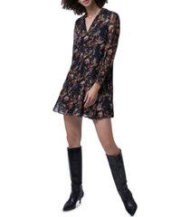 french connection desta coupe printed mini dress