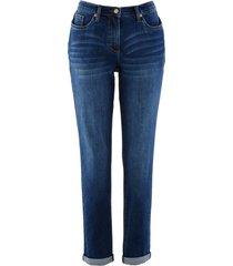 jeans elasticizzati boyfriend con cinta comoda (blu) - bpc bonprix collection