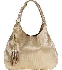 borsa shopper plissettata (oro) - bpc bonprix collection