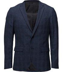 george birdeye prince check blazer colbert blauw matinique
