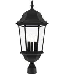 hamilton 3 lights outdoor post top lantern