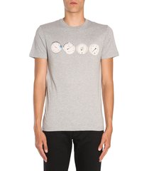 ps by paul smith round collar t-shirt