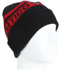 gorro do atlético-pr color new era - adulto - preto/vermelho