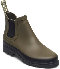 rain boots - low with elastic shoes boots ankle boots ankle boot - flat grön angulus