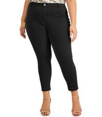 calvin klein plus size cotton twill pants