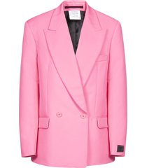 vetements fluo tailored blazer