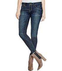 jeans power skinny low ktnt denim guess