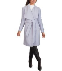 cole haan belted wrap coat