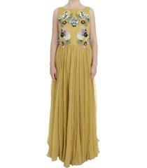 silk crystal applique shift dress