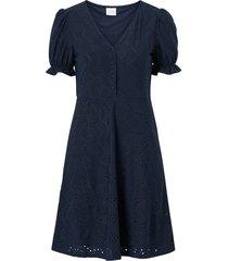 klänning vitamma s/s button dress