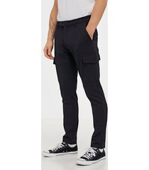 tailored originals pants - fred top pocket byxor insignia blue