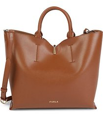 ares leather tote