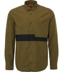 hugo boss dark green elever shirt 50388242-308