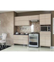 conjunto 4 peã§as cozinha versatti natural kappesberg bege - bege - dafiti