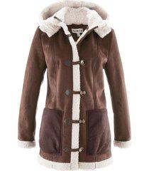 giacca in montone sintetico maite kelly (marrone) - bpc bonprix collection