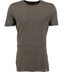 kultivate long fit t-shirt army