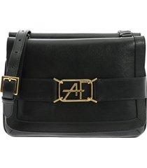 alberta ferretti - shoulder bag with logo