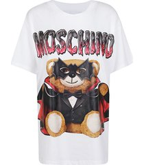 moschino bat teddy over t-shirt