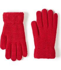 lane bryant women's knit glove onesz crimson