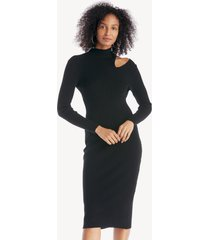 astr women's vivi sweater dress in color: black size xs from sole society
