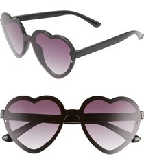 women's bp. 52mm flat front heart shape sunglasses -
