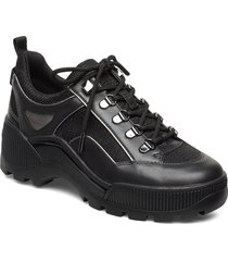 brooke lace up sneakers platform svart michael kors shoes