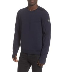 men's canada goose conway crewneck merino wool sweater