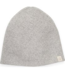 women's rag & bone ace cashmere beanie - grey