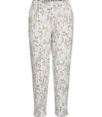 nightpants pyjamasbyxor mjukisbyxor vit esprit bodywear women