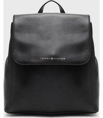 mochila backpack penelope negro tommy hilfiger