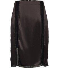 aleria knälång kjol svart tiger of sweden