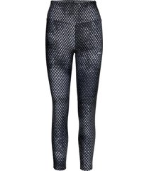 flattering stripe tights running/training tights svart röhnisch