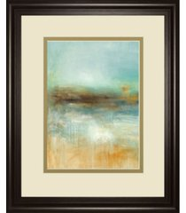 "classy art let the summer sun shine by pasion framed print wall art, 34"" x 40"""